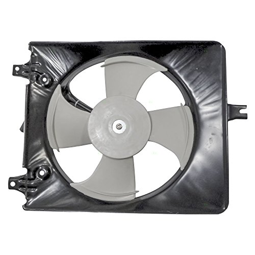 AC A/C Condenser Cooling Fan Assembly Replacement for Honda 38615-PAA-A00