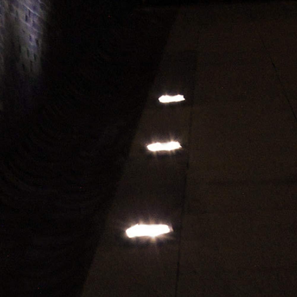 Matefielduk Lámpara de patio de jardín con luz de tierra enterrada solar a prueba de agua de 48 LED (naranja) - - Amazon.com
