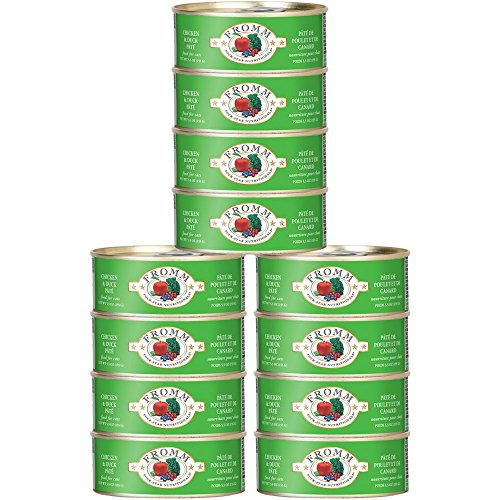 Fromm Four Star Duck/Chicken Canned Cat Food Can, 5 Oz