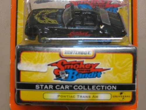 Matchbox Star Car Smokey and the Bandit Trans Am