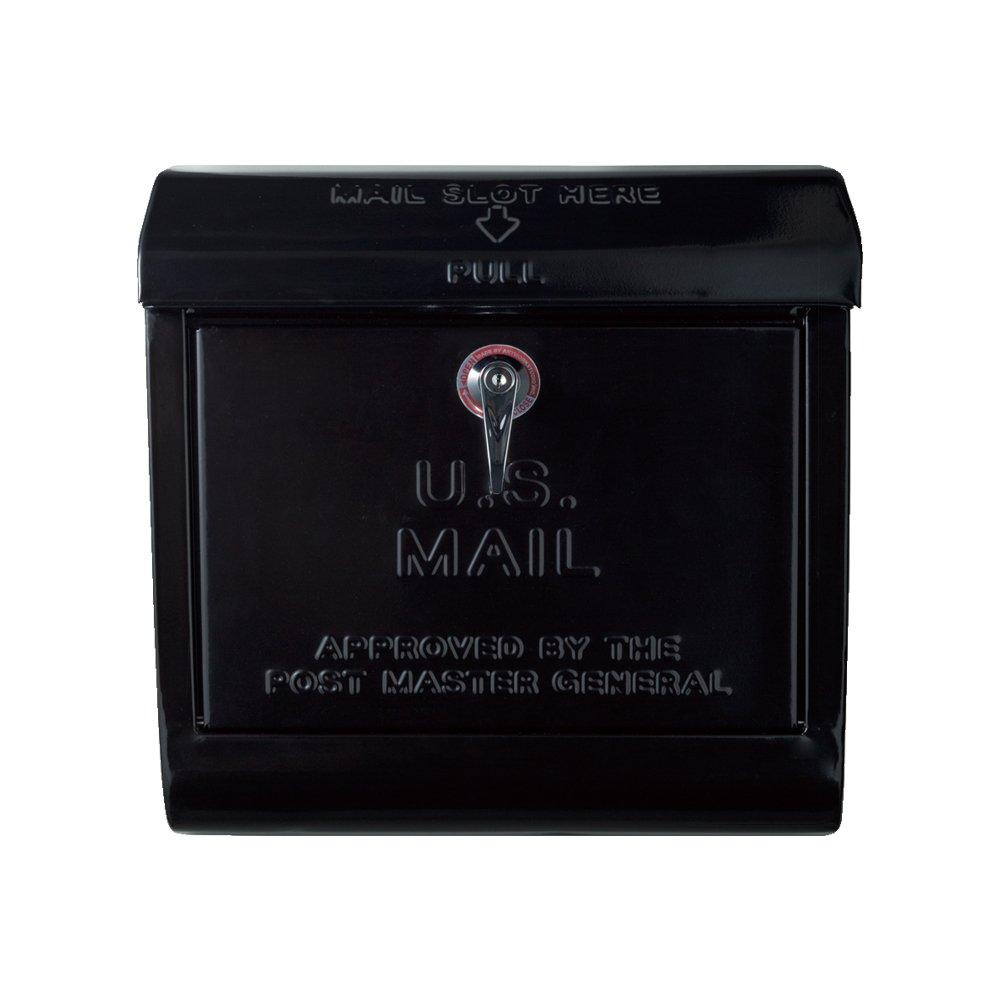 Art Work Studio U.S. Mail box (ユーエスメールボックス) TK-2075 ブラック B01BVGZTMK 14040 ブラック ブラック