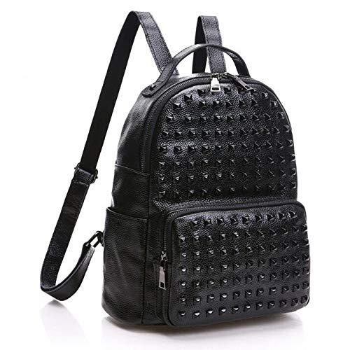 Bolsa Crossbody Mujer Zhi Mochila Hombro Mujeres Suave De Para Impermeable Las Viaje Wu Informal Black Bags Multifuncional Satchel Cuero na05wqdqO