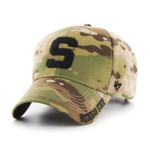 '47 NCAA Michigan State Spartans Myers MVP Hat, One Size, Multicam