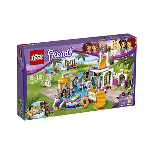 LEGO Friends La Piscina all'Aperto di Heartlake, Multicolore, 41313 6 spesavip