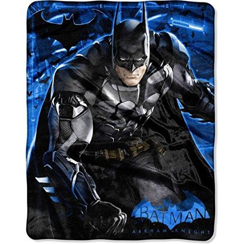 Batman 'Arkham Jump' Silk Touch Throw/Blanket 40 x 50 Franco