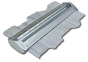 Toolzone - Perfilómetro (metal, 125 mm)
