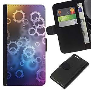 Stuss Case / Funda Carcasa PU de Cuero - Patrón de timbre - Apple Iphone 5C