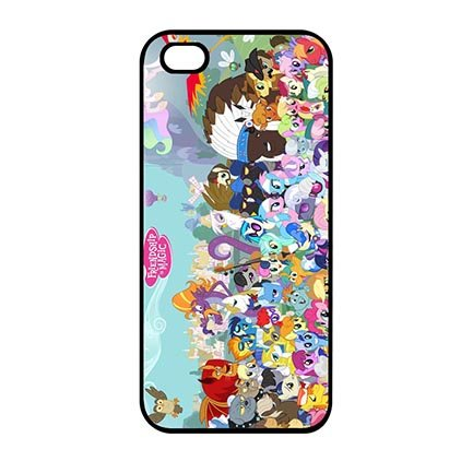 Unique Anime My Little Pony Case Cover for iPod Touch 5th Generation - Customized Eco iPod Touch 5th Generation Case Special Gift for Teen (Frozen Ipod Cases 5th Generation)