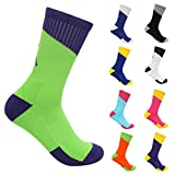 Women Men's Funky Colorful Sports Running Hiking Soccer Socks Size 6-13