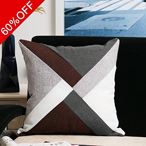 Patchwork Decorative Throw Pillow - 2