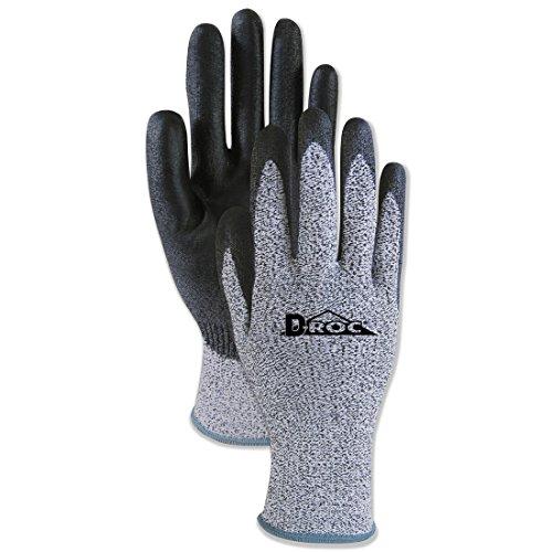 (Boardwalk 0002911 Palm Coated Cut-Resistant HPPE Glove, Salt & Pepper/Blk, Size 11(2-X-Large), DZ)