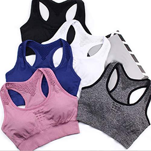 Hueco black Sin Dimpleya l Acero Trasero Funcionamiento Belleza Golpes Deportivo Yoga Profesional Rápido Sujetador Para Absorción Secado Anillo De Ejercicios UUqHw8Er