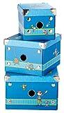 Sigikid Sammy Samoa - Set Of 3 Boxes