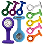 NEUF MONTRE INFIRMIERE SILICONE BROCH...