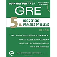 5 Lb. Book of GRE Practice Problems (Manhattan Prep 5 lb Series)