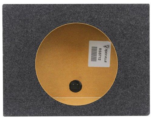 """Rockville RSST12 Single 12"""" 0.9 cu.ft. Sealed Car/Truck Shal"""
