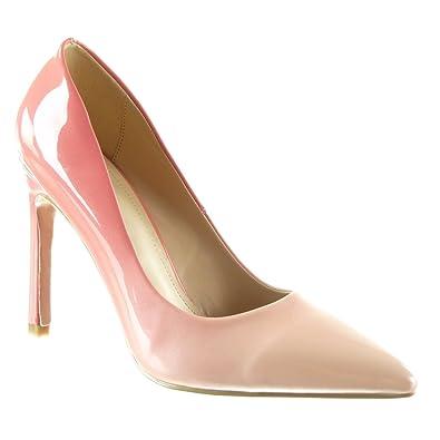 Zapatos rosas Angkorly para mujer AXMMiUxV