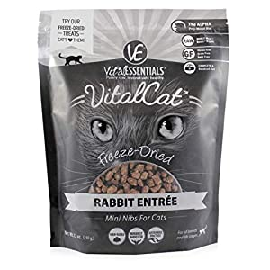 Vital Cat Freeze-Dried Rabbit Mini Nibs Grain Free Limited Ingredient Cat Food, 12 Ounce Bag 17