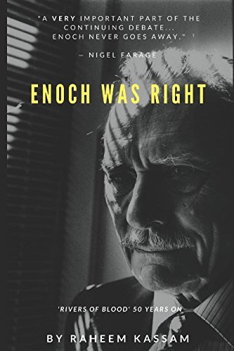 Book cover from Enoch Was Right: Rivers of Blood 50 Years On by Raheem Kassam