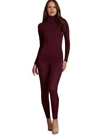 39a99f9678 Marks and Spencer Ladies Thermal Heatgen M S Turtle Neck Top (8 ...