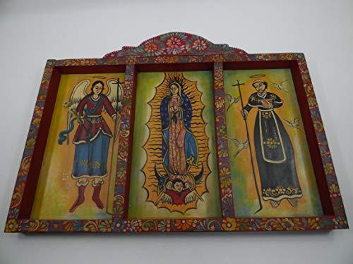 Hand Painted Mexican Folk Art - 25