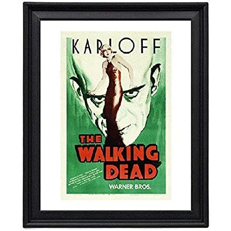 Amazoncom The Walking Dead Picture Frame 8x10 Inches Poster