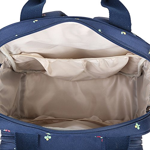 Global- 30 * 20 * 38 cm de nylon impermeable de gran capacidad paquete de la momia, de la manera extraña de viaje esencial multifunción mochila, Multifunción mujeres embarazadas Saliendo mochila ( Col #1