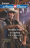 Front cover for the book Promise From a Cowboy by C.J. Carmichael