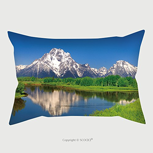 Custom Satin Pillowcase Protector Oxbow Bend At Grand Teton 82584127 Pillow Case Covers Decorative by chaoran