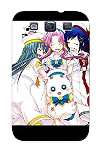 Awesome Case Cover/galaxy S3 Defender Case Cover(Anime Aria) Gift For Christmas