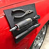 Glumes Magnetic Tool Holder Mat Powerful Metal Magnets Storage Tools Organizer For Holding Screws Nails Bolts Drilling Bits Hammer Plier Great For Garage/Workshops Car Repair Best Gift For Man Father (2 Pcs CHEAPER)
