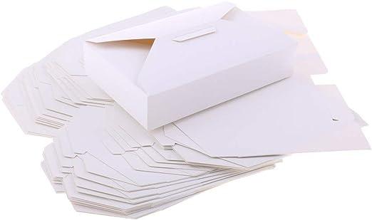 Tubayia 20 Pieza Rectangular de Papel pastas Cajas Cajas Cajas ...