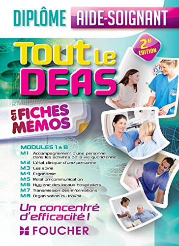 Tout le DEAS en fiches mémos - 2e édition: Diplôme d'Etat Aide-soignant (French Edition)