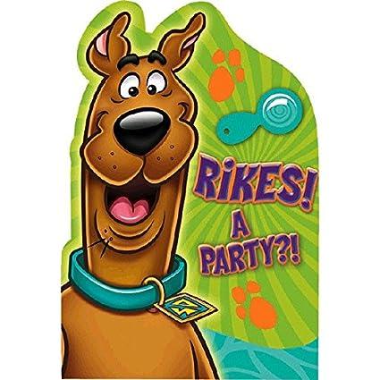 Amazoncom Awesome ScoobyDoo Birthday Party Postcard Invitations