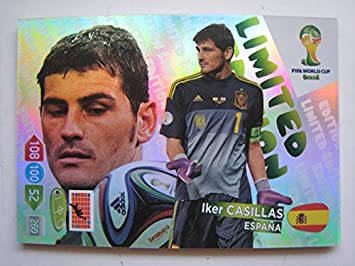 Limited edition panini adrenalyn coupe du monde 2014 cartes