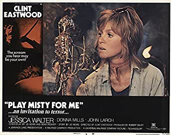 Amazon Com Play Misty For Me 1971 Authentic 11 Quot X 14
