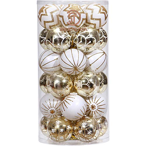 Outdoor Christmas Bauble Lights