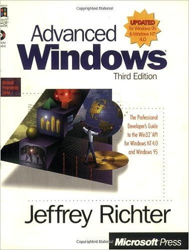 Advanced Windows 3rd Edition