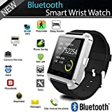 YIGEYI Bluetooth Smart Watch u8 for Apple Android Phone Support camrea Men Wristwatch pk u9 gt08 a1 gv18 The Perfect one for You (Color : Black)