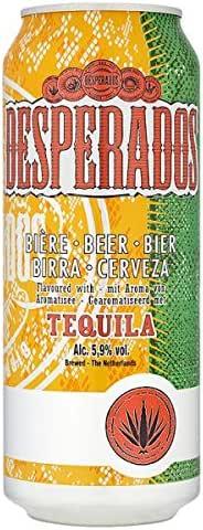 Desperados Sabor de Tequila Beer 4 x 500 ml (Pack de 24 x 500 ml): Amazon.es: Alimentación y bebidas