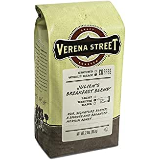 Verena Street, Julien's Breakfast Blend, Whole Bean Medium Roast