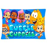 Custom Bubble Guppies Molly Gil Goby Deema Oona Nonny Ideas One Side Printed for 20 X 30 Inch Pillow Cases (04)