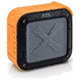 Portable Outdoor and Shower Bluetooth 4.0 Speaker by AYL SoundFit, Waterproof, Wireless with 10 Hour Rechargeable Battery Life, Powerful 5W Audio Driv