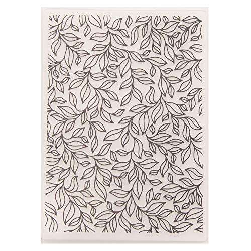 - Leaves Plastic Embossing Folder for Scrapbook DIY Album Card Tool Plastic Template Folders
