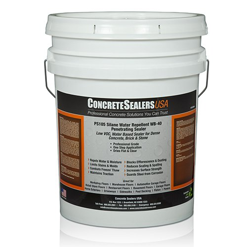 PS105 Silane Water Repellent WB-40 Penetrating Sealer (5 gal.) by Concrete Sealers USA