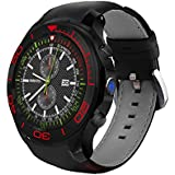 SHENGMO Popular Android 5.1 OS Screen S1 plus Smart Watch 1.3 Inch Mtk6572 512MB/8GB
