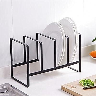 Plato de cocina sencillo vaciado rack rack Bandeja para cubiertos ...