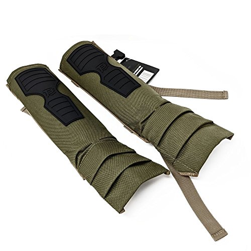 (BattlTac Snake Gaiters Brush Guards - Military Grade Nylon Construction - Lightweight - One Size Fits All)