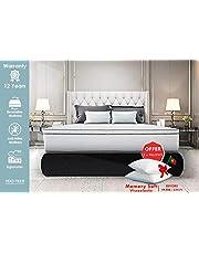 Lisabed Flex – Pack Matelas_Offre Deux Oreillers - 90x190 - Módele Bull-Flex Memory Soft, Noyau Fresh Natur, Gamme Prestige Hotel, 18 cm