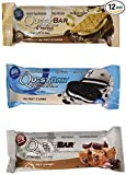 quest bars smore - Quest Nutrition Protein Bar Chocolate Cookie Variety Pack: Chocolate Chip Cookie Dough, S'mores, and Cookies & Cream - Pack of 12 (4 of Each)